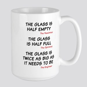 The glass is too big Mugs
