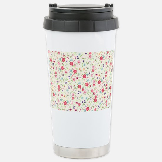 tiny floral dainty Stainless Steel Travel Mug