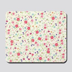 tiny floral dainty Mousepad