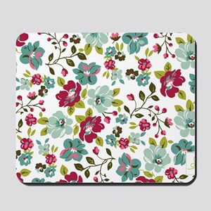 plum seed floral Mousepad