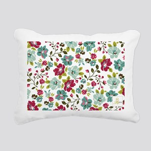 plum seed floral Rectangular Canvas Pillow