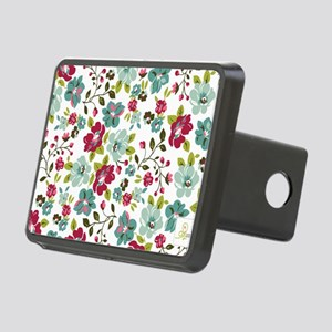 plum seed floral Rectangular Hitch Cover