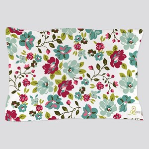 plum seed floral Pillow Case