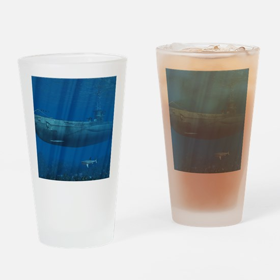 sm_Baby Blanket 1214_H_F Drinking Glass