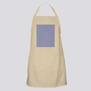 Blue and Brown Aztec Pattern Apron
