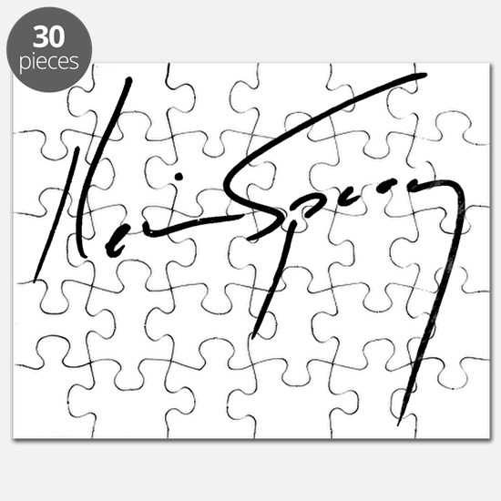 Kevin Spacey Signature Puzzle