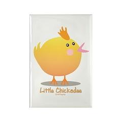 Little Chickadee Rectangle Magnet