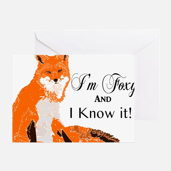 Cute Foxy Greeting Card