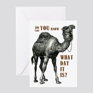 Do You Know What Day It Is Greeting Card