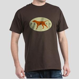 Pointer Dog (Sage) Dark T-Shirt