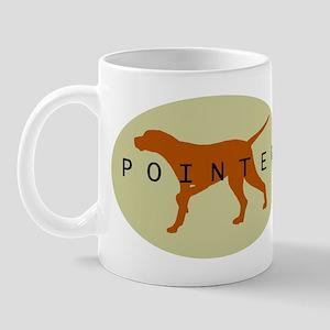 Pointer Dog (Sage) Mug