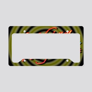 alinement License Plate Holder