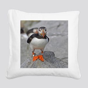 calendar Jan Square Canvas Pillow