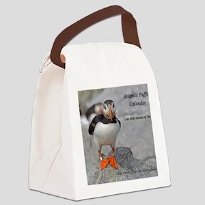 calendar    dec   cover Canvas Lunch Bag