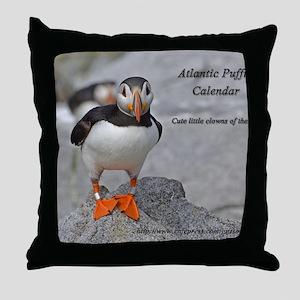calendar    dec   cover Throw Pillow
