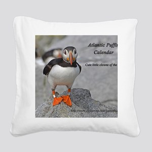 calendar    dec   cover Square Canvas Pillow