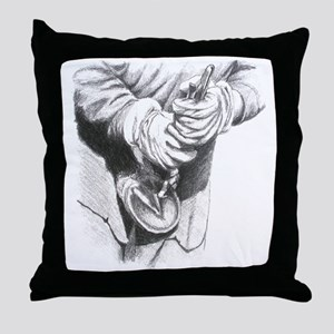 Farrier, cowboy Throw Pillow