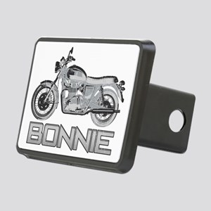 Bonnie Motorcycle Rectangular Hitch Cover