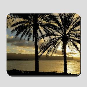Sunset North Shore Oahu Mousepad