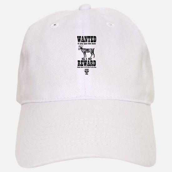 Wanted - The Goat Baseball Baseball Cap