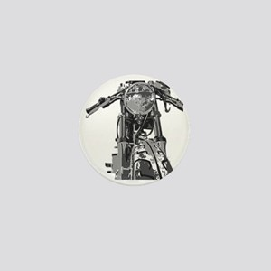 Bonnie Motorcycle Mini Button
