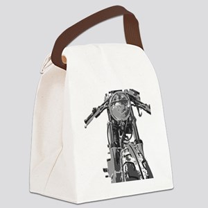 Bonnie Motorcycle Canvas Lunch Bag