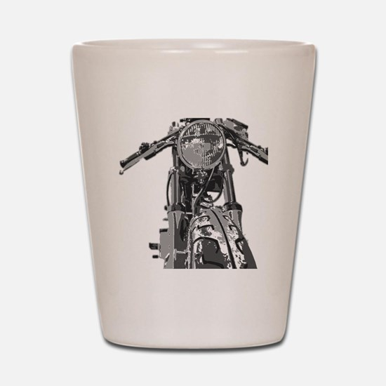 Bonnie Motorcycle Shot Glass