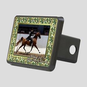 American Saddlebred Horse  Rectangular Hitch Cover