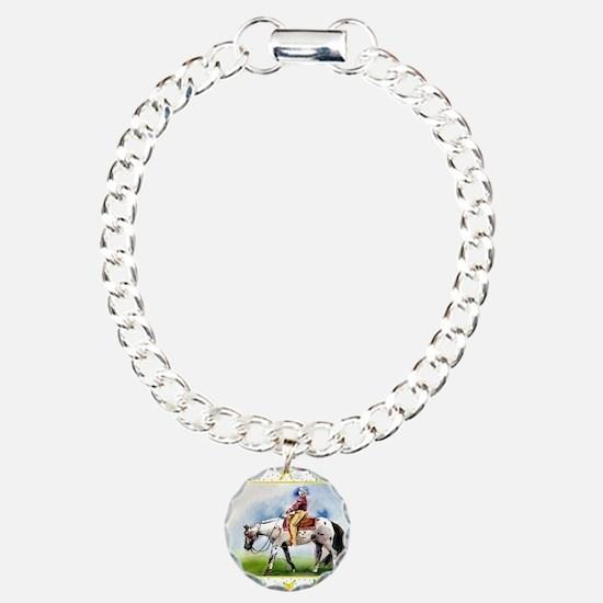 Appaloosa Horse Christma Bracelet