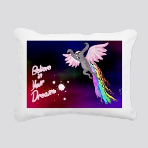 Believe In Your Dreams S Rectangular Canvas Pillow