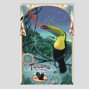 Art Nouveau Toucan Postcards (Package of 8)