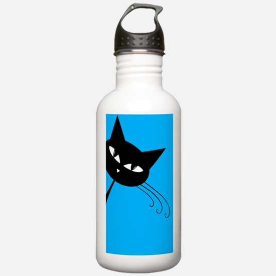 Sneaky Kitty Water Bottle