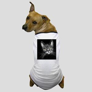 Curious Tabby Dog T-Shirt
