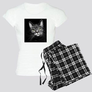 Curious Tabby Women's Light Pajamas