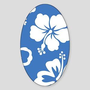 BeachTowel110 Sticker (Oval)