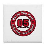 Out In The Park Collegiate Tile Coaster