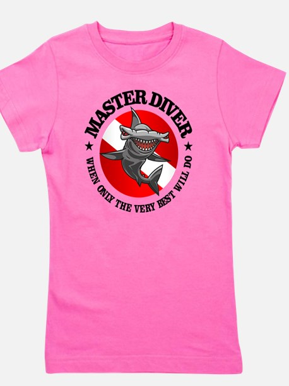 Master Diver (Hammerhead) Girl's Tee