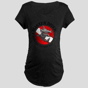 Master Diver (Hammerhead) Maternity Dark T-Shirt