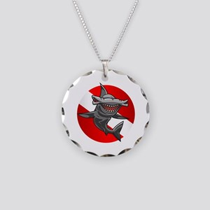 Master Diver (Hammerhead) Necklace Circle Charm