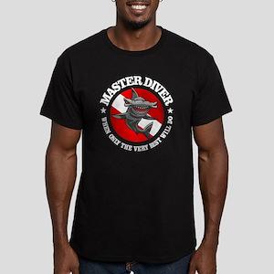 Master Diver (Hammerhe Men's Fitted T-Shirt (dark)