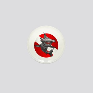 Master Diver (Hammerhead) Mini Button