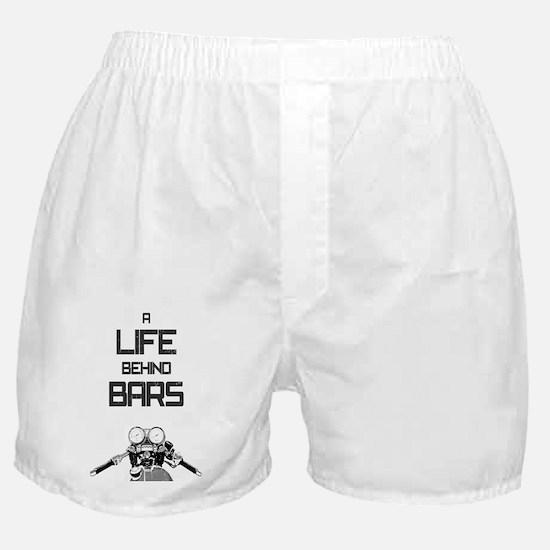 A Life Behind Bars Boxer Shorts