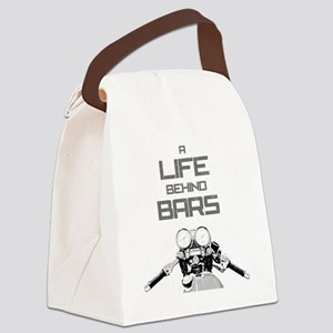 A Life Behind Bars Canvas Lunch Bag