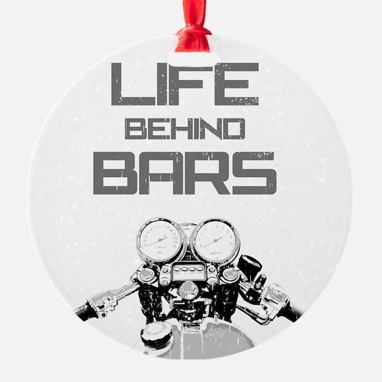 A Life Behind Bars Ornament