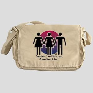Sometimes I feel like a nut... Messenger Bag