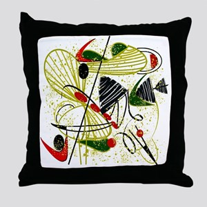 atomic funky king duvet Throw Pillow