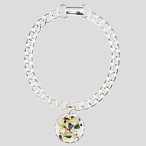 atomic funky king duvet Charm Bracelet, One Charm