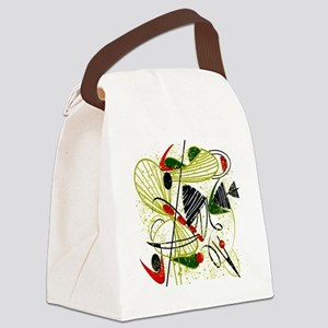 atomic funky king duvet Canvas Lunch Bag