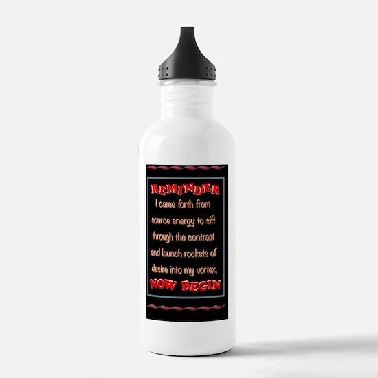 reminder Water Bottle