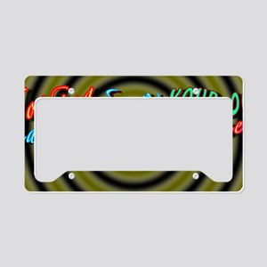 alinement License Plate Holder